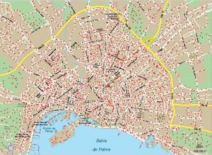 Palma-Mallorca-mapa-vector